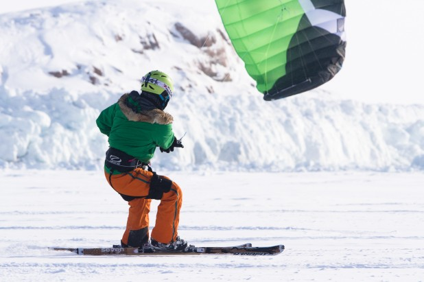 Kite Skiing Polar Training